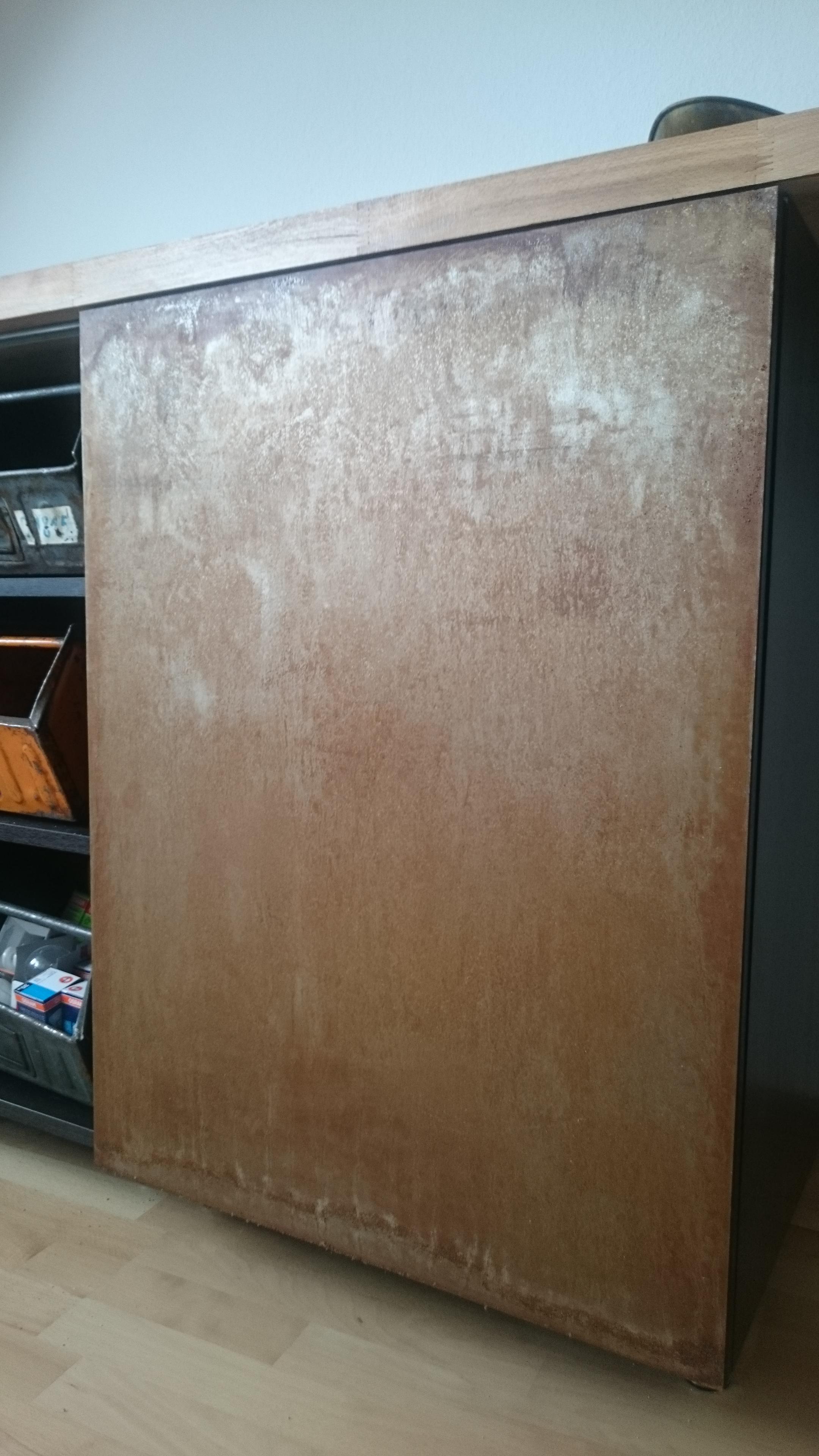 DIY industrial sideboard detail1